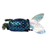 Річний модний рюкзак поліестер синій Арт.MRA-2147 (Китай)