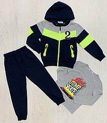 Спортивний костюм для хлопчиків, Угорщина, Seagull, арт. 52274, 98-146 см