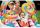 Водный надувной игровой центр Intex 57149 Карамель Candy Zone Play Center (295x191x130 см) + встроенный фонтан, фото 4