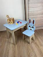 Детский стол! Отличный подарок для девочки! Стол с ящиком и стульчик для учебы, рисования, игры