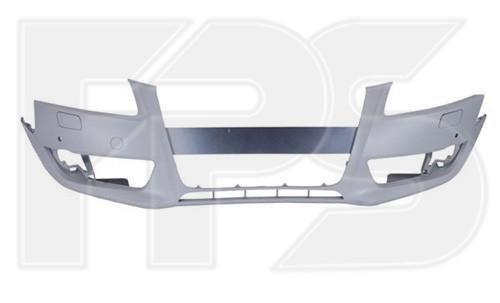 Бампер передній Audi A5 B8 07-11 (Китай) З ОТВ. ОМИВАЧА; З П/ТРОН
