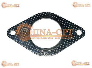Прокладка приемной трубы нижняя Чери Амулет Карри Chery A11 Amulet A15 AmuletFL Karry 1.5 1.6 MT