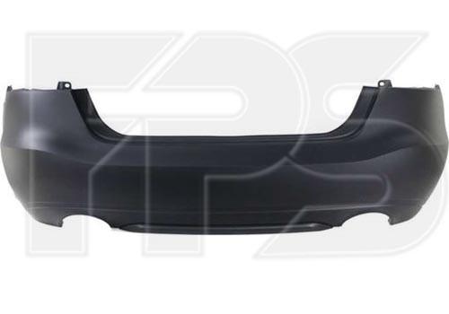 Бампер задній Nissan Maxima A36 15-18 без отв. під п/тронік (Тайвань)