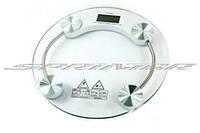 Весы напольные электронные круглые жк-дисплей