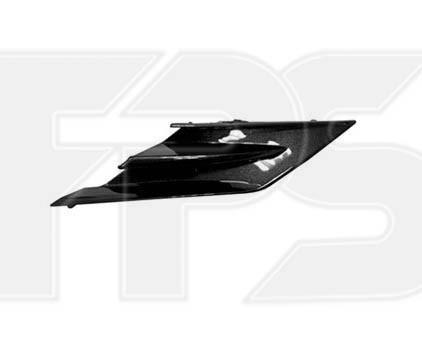 Накладка решітки радіатора права Toyota Camry XV70 LE/XLE 17 - чорний глянець (Тайвань)