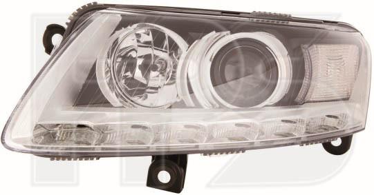 Фара передня права Audi A6 C6 04-11 (Китай) D2S/PY21W + LED