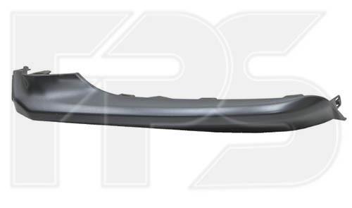 Накладка переднього бампера ліва Toyota Camry XV70 SE/XSE 17- (Тайвань) чорний мат