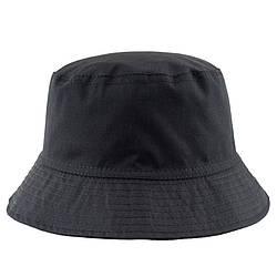 Панама у вуличному стилі чорна (панамка чоловіча жіноча)
