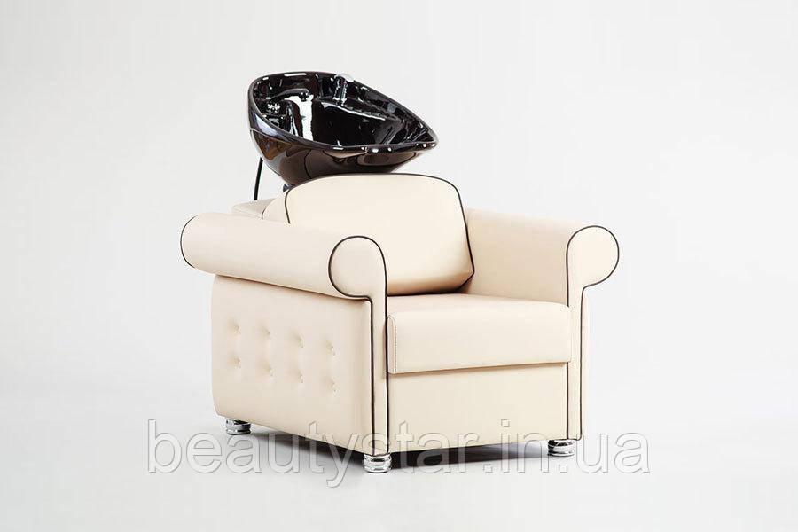 Кресло мойка для парикмахеров головомойка парикмахерская для салонов красоты VM2030