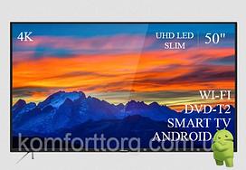 "Современный  Телевизор   THOMSON 50""  Smart-TV ULTRA HD T2 USB Гарантия 1 ГОД!"
