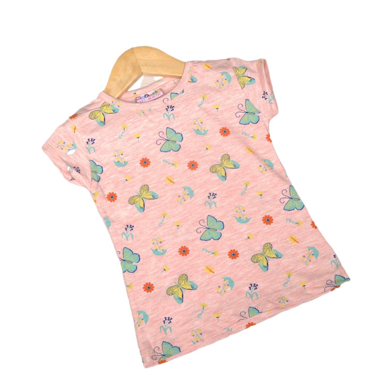 Детская футболка для девочки, 110см