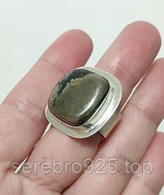 Кольцо в серебре с пиритом 18,5 р.