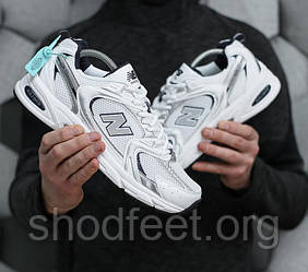 Мужские кроссовки New Balance MR530 White Silver