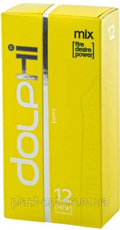 Презервативи DOLPHI (Долфі) LUX Mix 12шт., фото 2