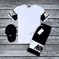 Летний комплект футболка + шорты Nike