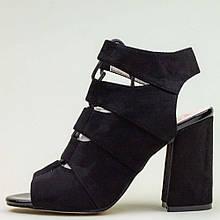 Босоніжки Allshoes 773 Ж 579458 Чорні