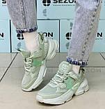 Кроссовки BaaS 1672-15 Ж 579343 Зеленые, фото 2