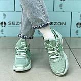 Кроссовки BaaS 1672-15 Ж 579343 Зеленые, фото 3