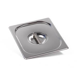 Крышка для гастроемкости GN 1/6 нержавеющая сталь ECO, FoREST