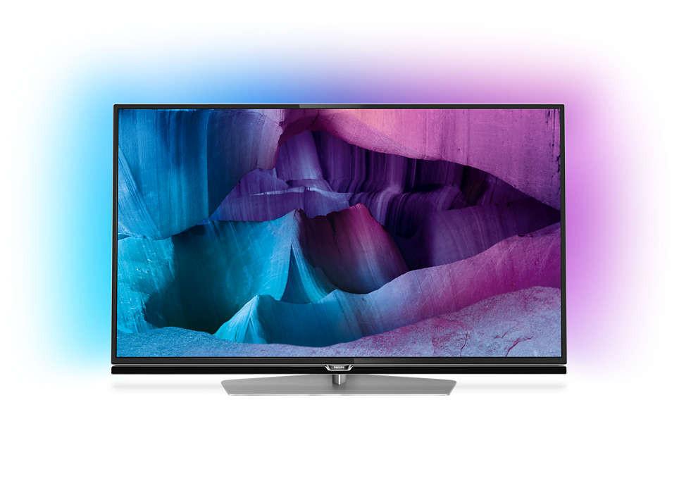 Телевизор Philips 49PUS7150/12 (800Гц, Ultra HD 4K, Smart, Wi-Fi, 3D)