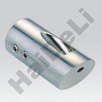 Крепление штанги стена-стекло под углом 45 градусов HDL 922