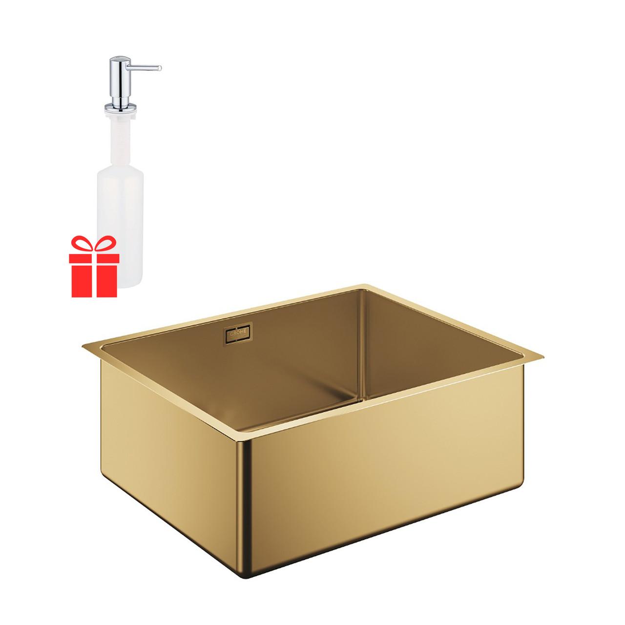 Набір Grohe мийка кухонна K700U 31574GN0 + дозатор для миючого засобу Contemporary 40536000