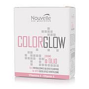 """Средство для восстановления структуры волос Nouvelle Color Glow Bagno dolio 10х10 мл"""""""