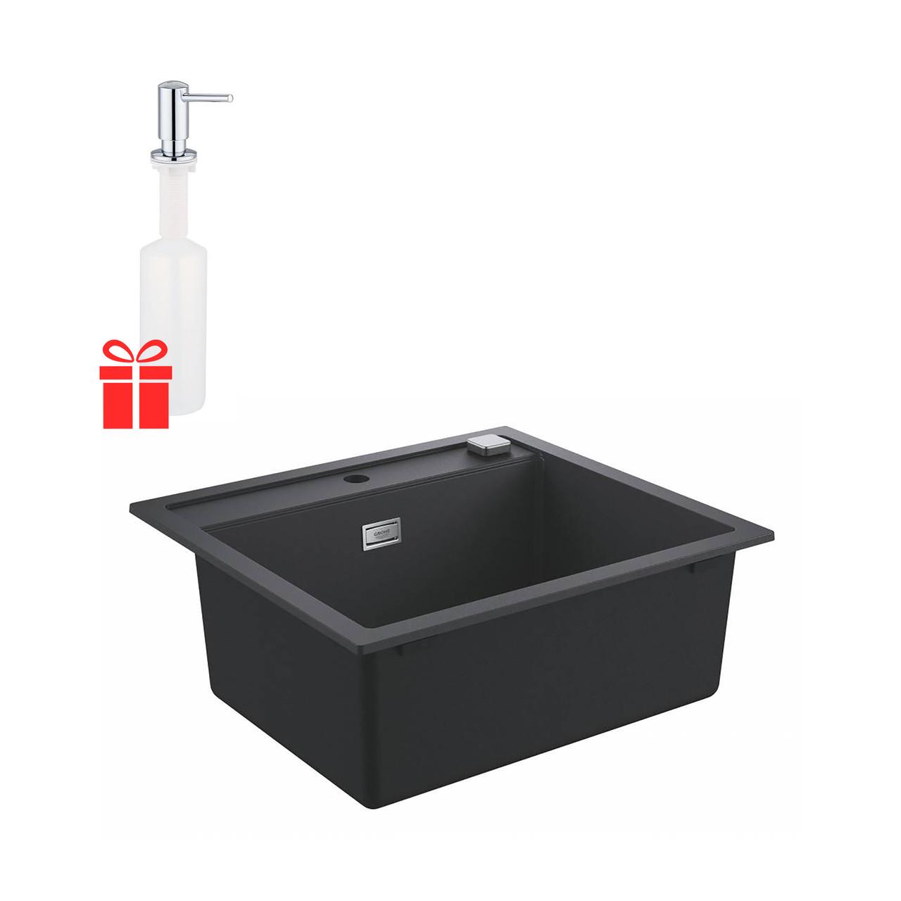 Набір Grohe мийка кухонна K700 31651AP0 + дозатор для миючого засобу Contemporary 40536000