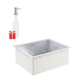 Набор Grohe мойка кухонная K700 31726SD0 + дозатор для моющего средства Contemporary 40536000