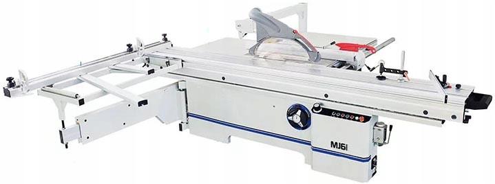 Форматно-раскроечная пила  MJ61-3200 Отрезной диск: 5,5 кВт, 400 В Подрезной диск: 1,1 кВт, 400 В