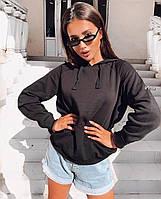 """Світшот жіночий молодіжний з капюшоном, розмір 42-46 (3ол) """"IRINA""""купити недорого від прямого постачальника"""