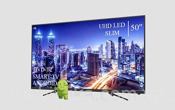 "Телевізор JVC 50"" Smart-TV ULTRA HD T2 USB Android 7.0 Гарантія 1 РІК"