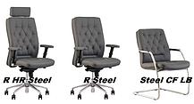 Кресло офисное Chester R HR steel механизм ES крестовина AL 70, ткань CUZ-1y (Новый Стиль ТМ), фото 2