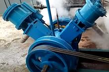 Паровая турбина в комплекте с генератором и парогенератором