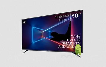 """ТЕЛЕВИЗОР SHARP 50""""  Smart-TV ULTRA HD T2 USB Гарантия 1 ГОД!"""