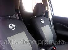 Авточохли для Nissan Rogue 2014- (USA) Чохли на сидіння Ніссан Роук / Ріг ( Америка ) з 2014 р. в. EMC Elegant