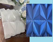 """ЭКСКЛЮЗИВ! Силиконовый коврик для шоколадного ганаша  """"Оригами №3"""""""