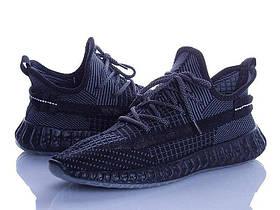 Мужские черные кроссовки изики