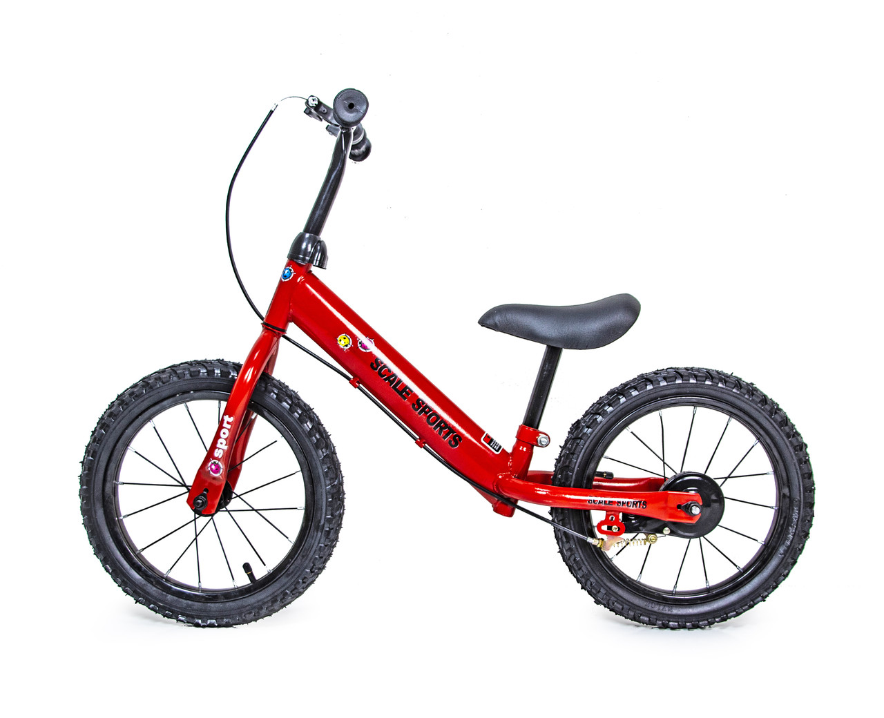 Беговел Велобег 14Д Scale Sports Красный цвет