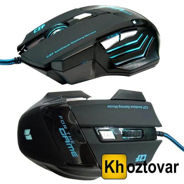 Игровая проводная мышка Gaming Mouse LED G-509-7 5180