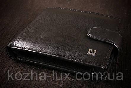 Стильний чоловічий гаманець з натуральної шкіри, фото 2