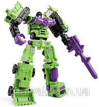 Робот-комбайнер трансформер Девастатор 6в1,  21 см - Transformer-Combiner, Devastator