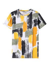 Мужская летняя  футболка тай-дай