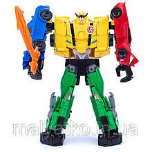 Робот-трансформер 4в1 Ультра Бі, Комбайнер, Роботи під прикриттям (Robots in Disguise) Transformers Team Ult