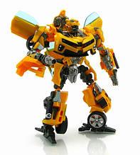 Трансформер Бамблбі і Сем Вітвікі - Bumblebee&Sam Witwicky, TF2, Human Alliance, 20CM