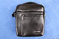 Мужская сумка через плечо из натуральной кожи, фото 1