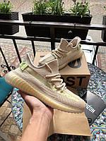 Летние модные кроссовки Adidas Yeezy Boost 350 v2 (Адидас Изи),текстиль
