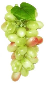 Виноград искусственный 20*10 см, белый