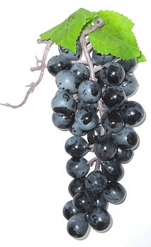 Виноград искусственный 19 см, бордовый