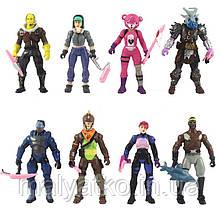 Набір фігурок Фортнайт, 8в1, 9 см - Fortnite action figure